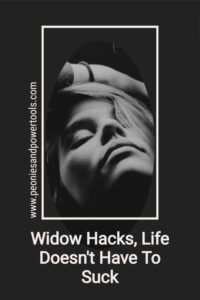 A picture of a widow